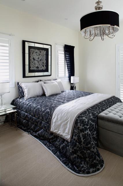 Art Deco contemporary-bedroom