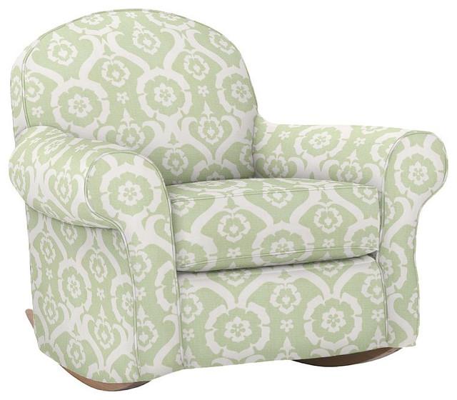 Dream Rocker & Ottoman traditional-rocking-chairs
