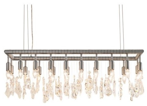 Cellula Rectangular Chandelier modern chandeliers