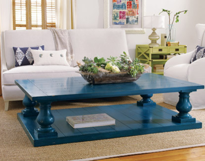 Coastal Living light and bright eclectic