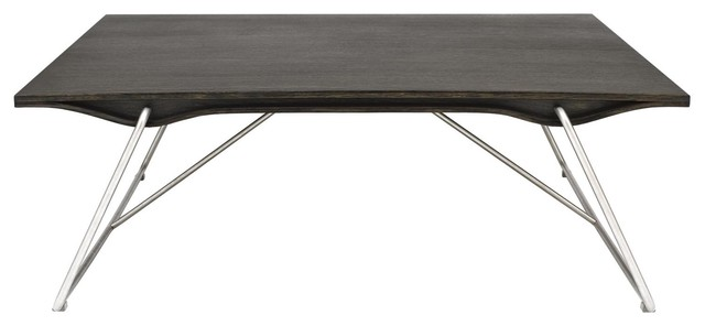 Ripple Square Coffee Table modern-coffee-tables