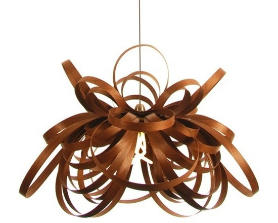 Eco Friendly Furniture and Lighting - Inspired by the movement and beauty of a Butterfly in full flight, the lamps form intercepts the light making intricate shadows and producing a stunning lighting effect in any space. Handmade in Cornwall from FSC Walnut sourced from sustainably managed forests.Price includes shipping from Europe.