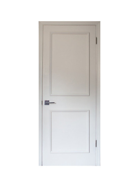 """Luxe Architectural - Two Panel Door Moulding Kit, Primed Only, 24"""" - Get the custom, high-end look in your home quickly and easily with our Patent Pending door moulding kits for flat panel doors."""