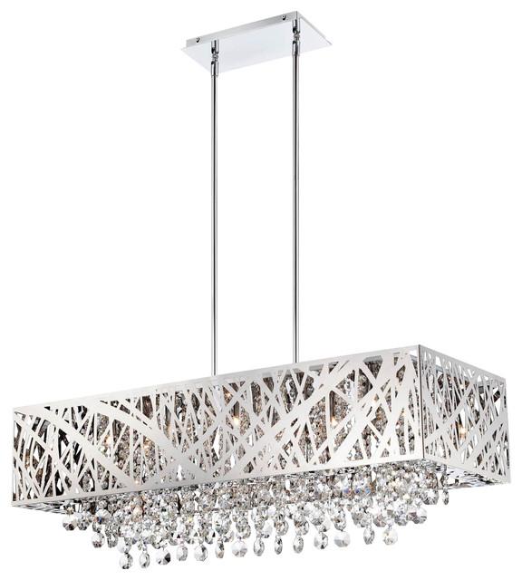Modern chrome chandeliers chandelier designs captivating 60 modern rectangular chandeliers design inspiration aloadofball Image collections