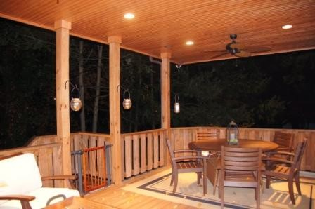 Deck traditional-porch