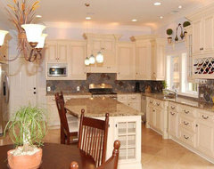 Antique White Kitchen Cabinets Home Design traditional kitchen cabinets