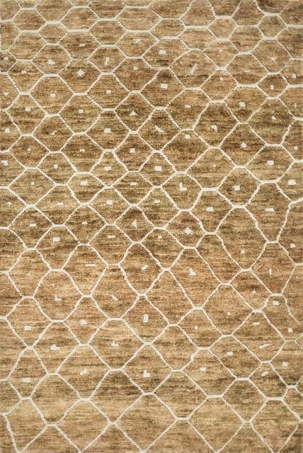 Loloi Rugs SAHASJ-05ELMW96D6 Sahara Elmwood Transitional Hand Knotted Rug transitional-rugs