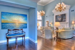 Oyster Bay Traditional Entry Other Metro By Chic