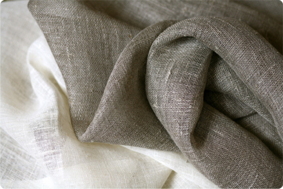Natural Linen Fabric For Curtains and Upholstery ...