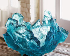 Amanda Brisbane Frozen Water Sculpture traditional artwork
