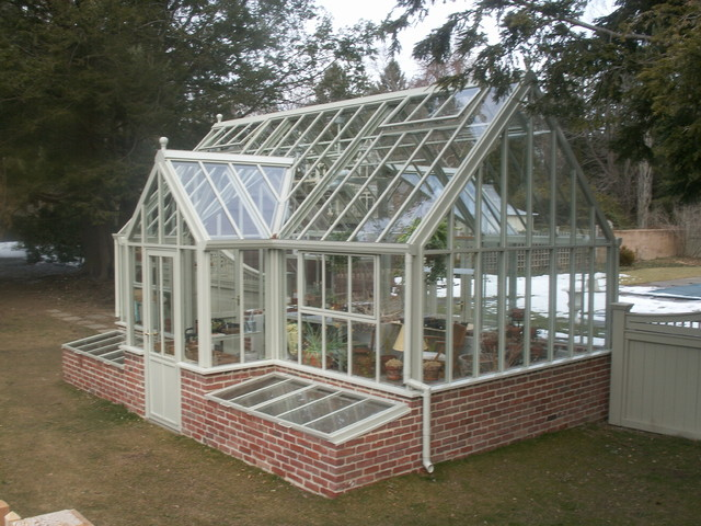 traditional greenhouses traditional glasshouses - Traditional - Greenhouses - boston - by ...