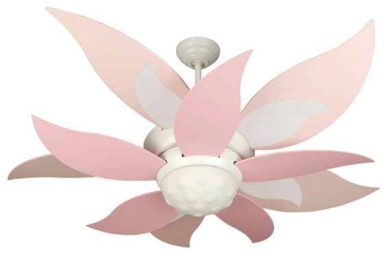 Craftmade K10368 Youth Bloom Fan W - White eclectic-ceiling-fans