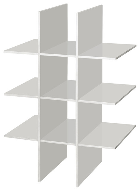 Allen + Roth White Wood Shoe Storage - Contemporary - Shoe Storage - by Lowe's