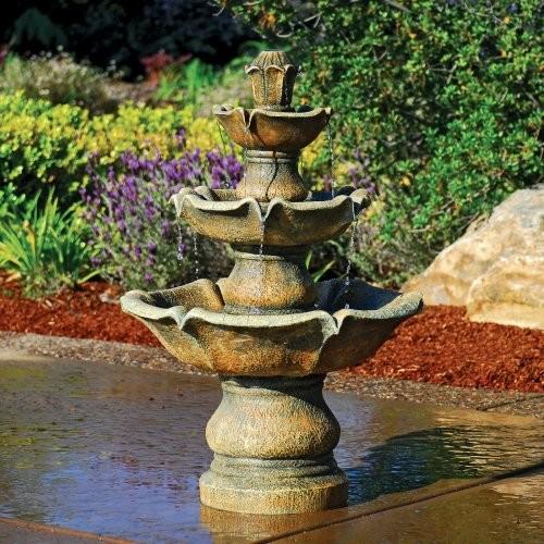 Bond Madora 3 Tier IndoorOutdoor Fountain Traditional Outdoor