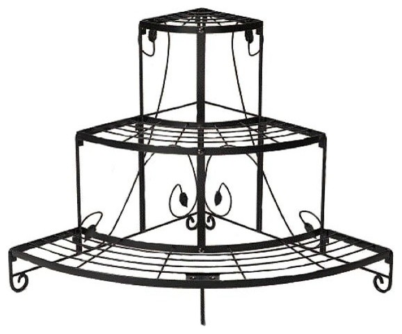 Corner Plant Stand Traditional Plant Stands And