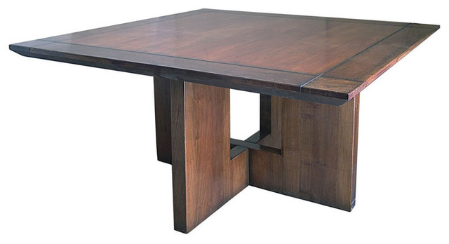 60 Quot Monet Square Dining Table Traditional Dining
