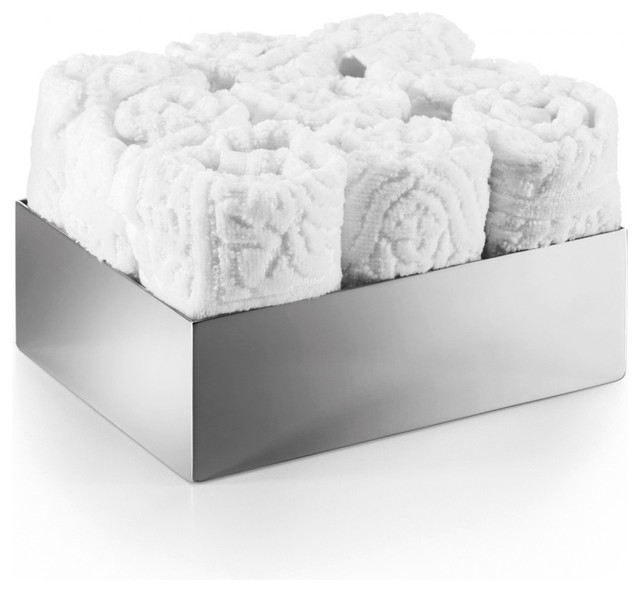 ... for Hand Towels in Stainless Steel contemporary-bathroom-accessories