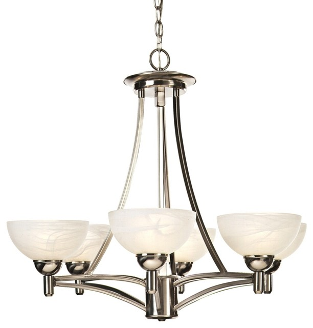 Kathy Ireland Deco Scale Chandelier Contemporary