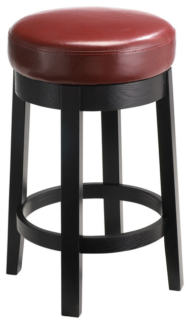 Cedric Counter Stool, Oxblood contemporary-bar-stools-and-counter-stools