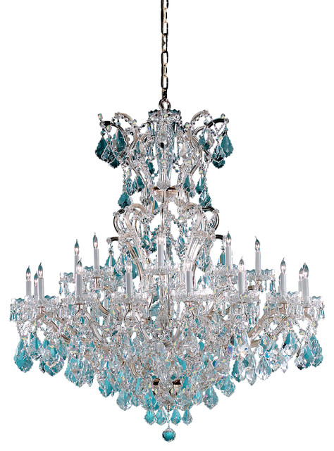4424-CH-CL-MWP Crystorama traditional-chandeliers