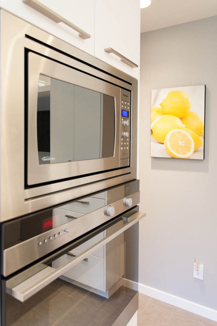 Updated Bright Kitchen Laundry Room Contemporary Kitchen Vancouver By Kenorah Design