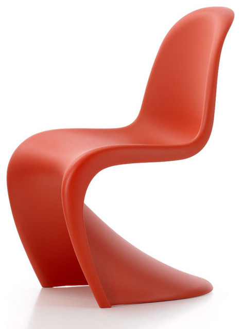 panton junior chair set of 2 classic red midcentury chairs by design public. Black Bedroom Furniture Sets. Home Design Ideas