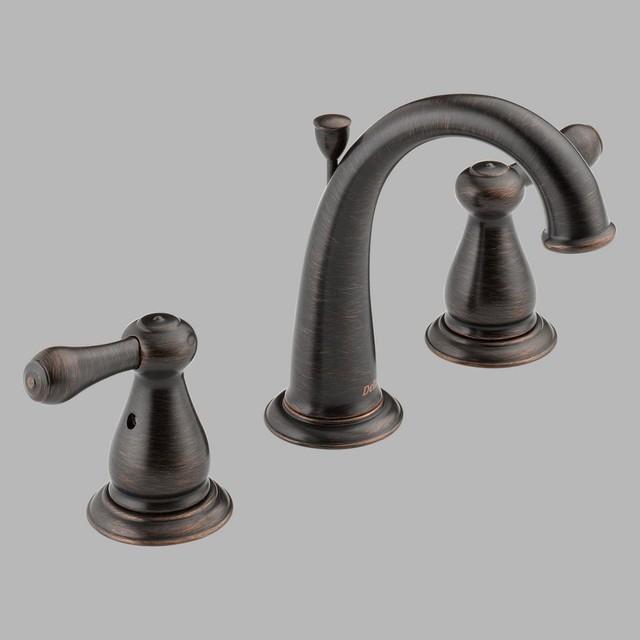 Delta leland 3575 double handle widespread bathroom sink - Delta contemporary bathroom faucets ...