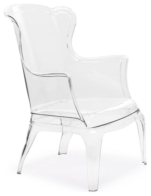 Vision Chair Transparent modern-living-room-chairs