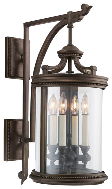 Louvre Outdoor Wall Mount, 538481ST traditional-outdoor-wall-lights-and-sconces