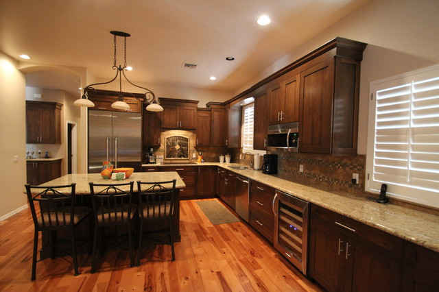 Remodeled Kitchens by Cook Remodeling - Traditional - Kitchen ...
