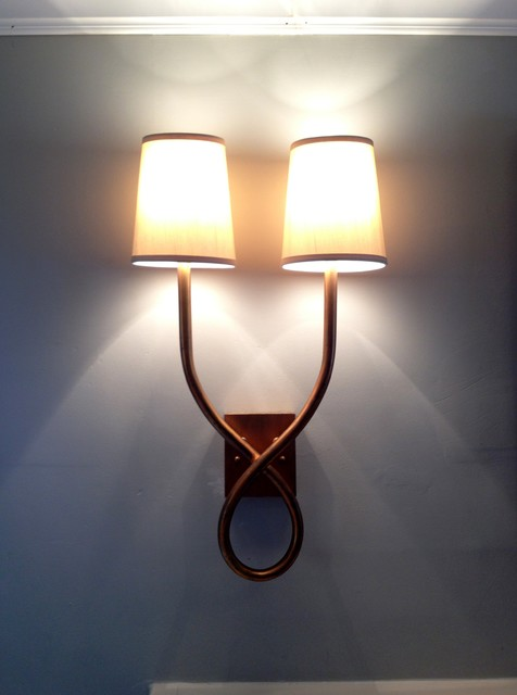 Gold Sconce traditional-wall-lighting