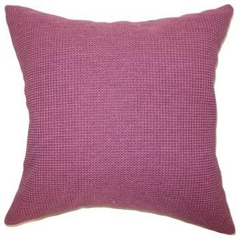 The Pillow Collection Gumamela Plain Pillow modern-pillows