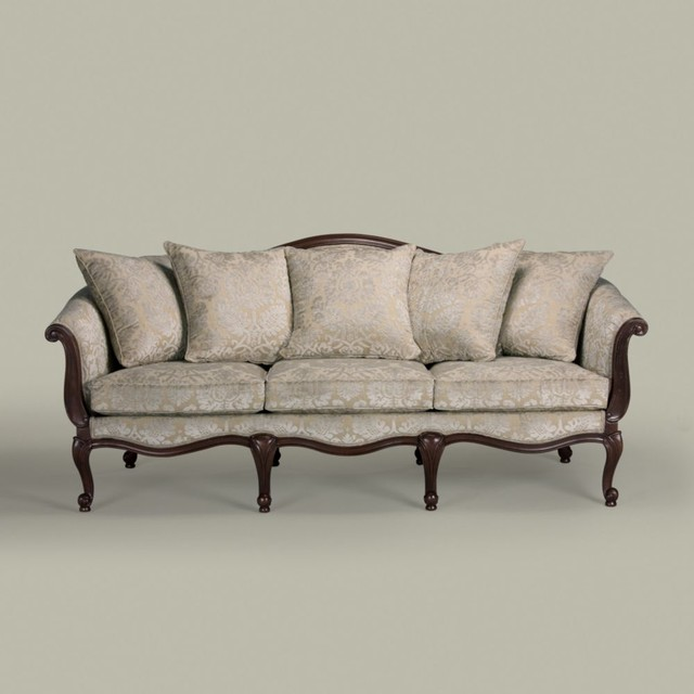 Evette sofa traditional sofas by ethan allen for Traditional couches