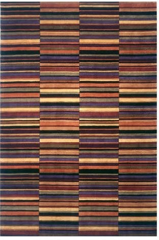 Momeni New Wave Crossroads Multi NW-42 Area Rug contemporary-rugs