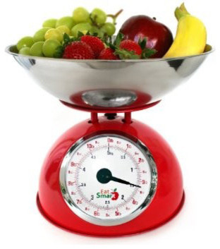 EatSmart Precision Retro Mechanical Kitchen Scale traditional kitchen tools