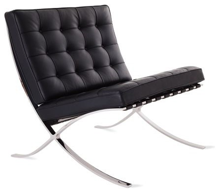 Barcelona Chair - modern - chairs - by Design Within Reach