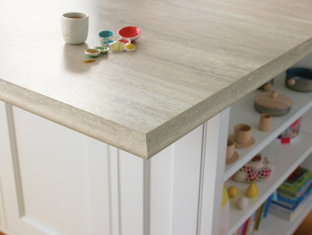 3458 Travertine Silver 180fx® with Ogee IdealEdge™ kitchen-countertops