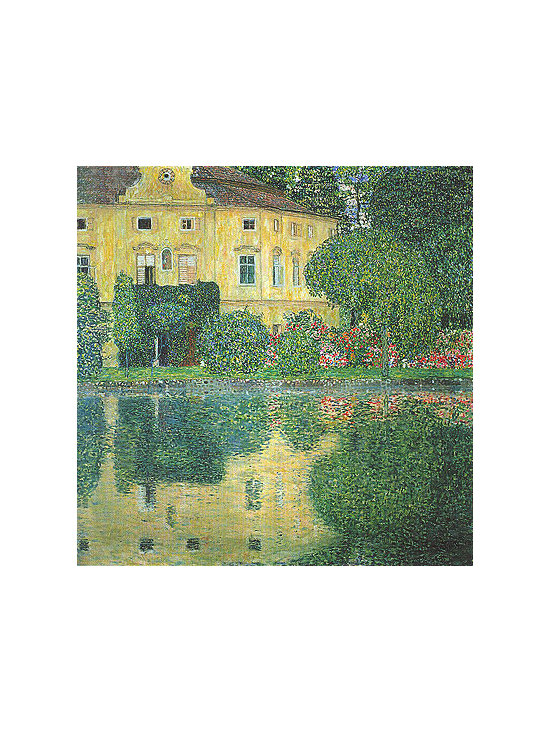 Kammer Castle on the Attersee IV | Klimt | Painting Reproduction -