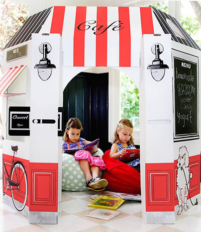 Kids French Cafe modern outdoor playsets