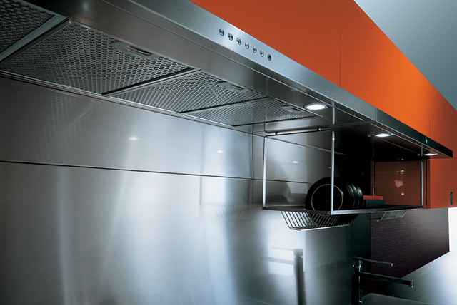 Italian Kitchen Cabinet Organization and Close-up Images modern-kitchen-cabinets