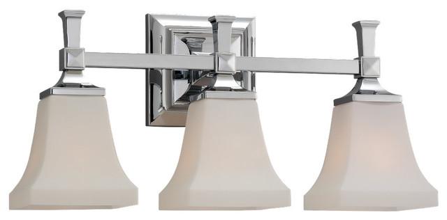 Melody,Three Light Wall / Bath contemporary-bathroom-vanity-lighting