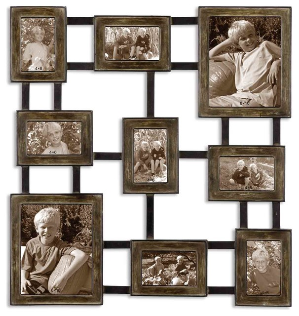Lucho Hanging Photo Collage traditional-picture-frames