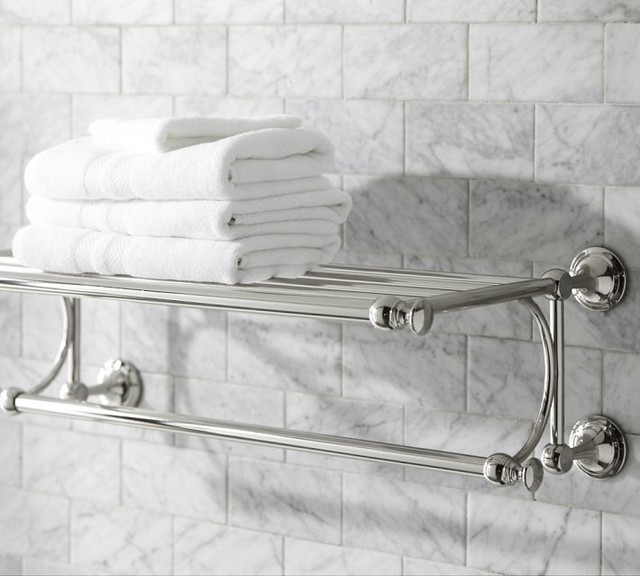 Mercer Train Rack - Traditional - Towel Bars And Hooks - by Pottery Barn