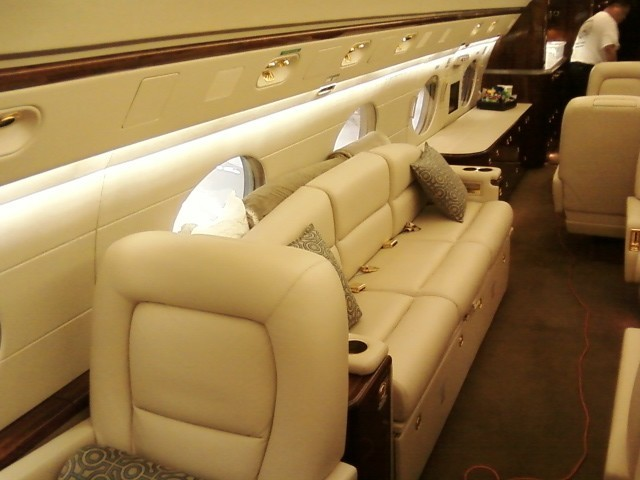 Aviation Upholstery traditional