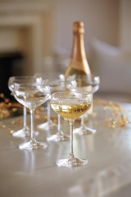Spiegelau Champagne Coupe Contemporary Wine Glasses