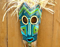 Mask No 2 tropical artwork