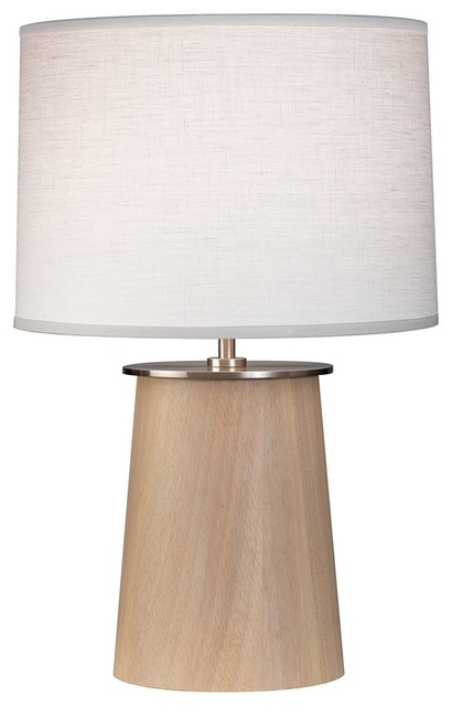 """Contemporary Robert Abbey Adaire Nickel Oyster 19 1/2"""" High Accent Lamp contemporary-table-lamps"""