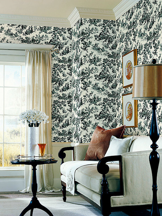 Vintage Wallpaper - available from Brewster Home Fashions