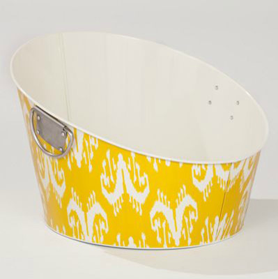 Ipanema Ikat Slanted Party Tub eclectic serveware