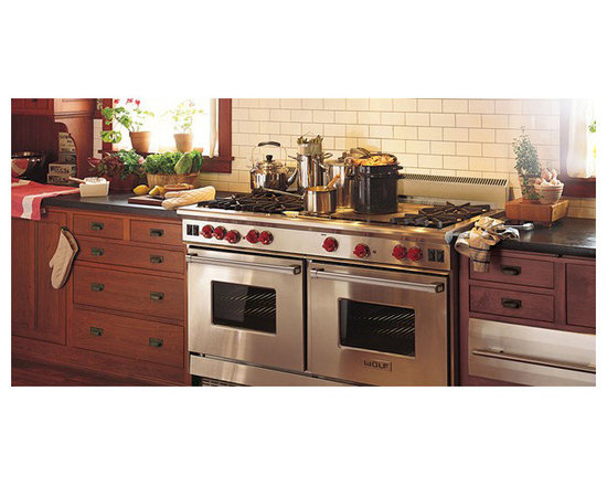 "Wolf 60"" Pro-style Gas Range, Stainless Steel 